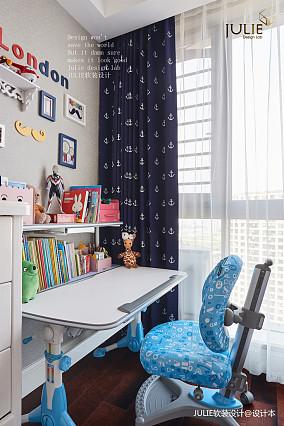 精致138平美式四居儿童房装饰图片四居及以上美式经典家装装修案例效果图