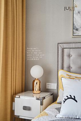 典雅115平美式四居卧室装修装饰图四居及以上美式经典家装装修案例效果图