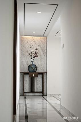 华丽618平中式别墅过道装潢图