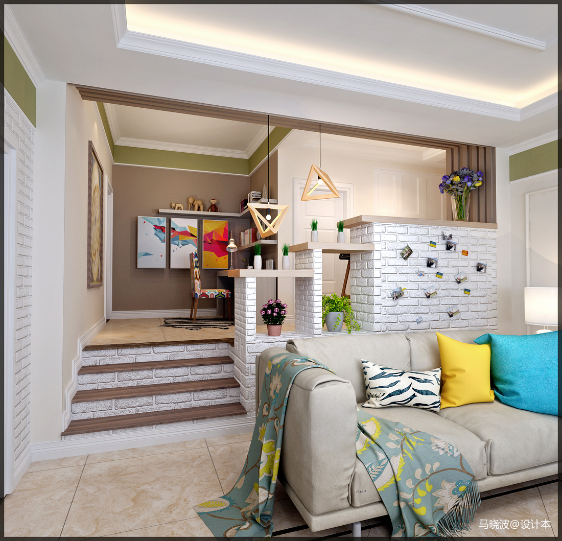 北欧客厅北欧极简客厅设计图片赏析