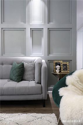 浪漫158平混搭四居客厅布置图