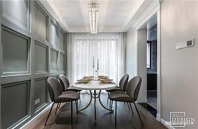 浪漫113平混搭四居餐厅设计效果图