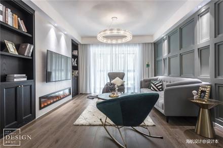 复古混搭客厅设计图四居及以上潮流混搭家装装修案例效果图