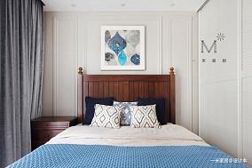 优美160平美式四居卧室设计效果图四居及以上美式经典家装装修案例效果图
