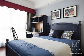 优美147平美式四居儿童房装修案例四居及以上美式经典家装装修案例效果图