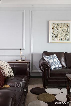 优雅112平美式四居实景图四居及以上美式经典家装装修案例效果图