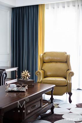 精美128平美式四居装修美图四居及以上美式经典家装装修案例效果图