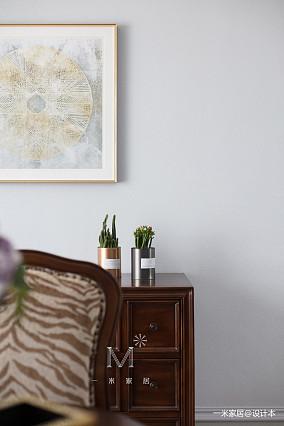 简洁100平美式四居装修装饰图家装装修案例效果图