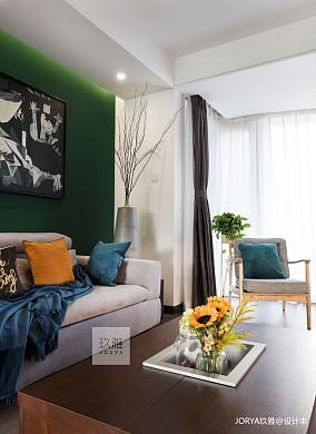 简洁150平简约四居客厅装修设计图