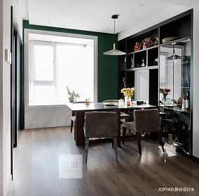 温馨108平简约四居餐厅设计案例四居及以上现代简约家装装修案例效果图