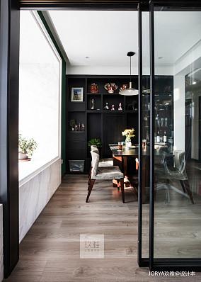 大气119平简约四居餐厅案例图四居及以上现代简约家装装修案例效果图