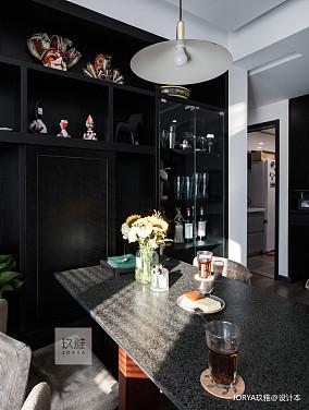 精美123平简约四居餐厅装修装饰图家装装修案例效果图