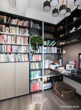 精致154平简约四居书房实景图