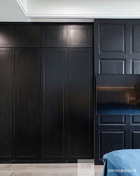 简洁139平简约四居卧室装修美图家装装修案例效果图