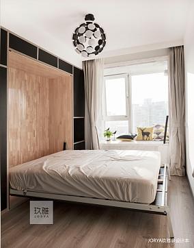 典雅144平简约四居卧室实拍图四居及以上现代简约家装装修案例效果图