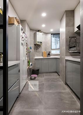 精致160平简约四居厨房布置图四居及以上现代简约家装装修案例效果图