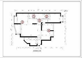 优美117平简约四居装修美图四居及以上现代简约家装装修案例效果图