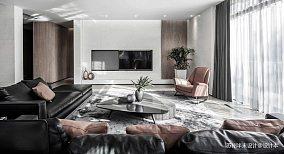 实景案例-晋园四居及以上现代简约家装装修案例效果图