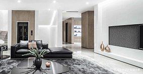 精致118平现代四居客厅装潢图四居及以上现代简约家装装修案例效果图
