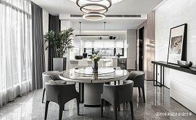 明亮115平现代四居餐厅实拍图四居及以上现代简约家装装修案例效果图