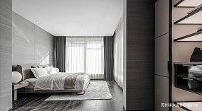 温馨143平现代四居卧室装饰图片四居及以上现代简约家装装修案例效果图