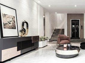 精致97平现代四居休闲区装修设计图四居及以上现代简约家装装修案例效果图