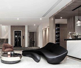 温馨103平现代四居休闲区装饰图片四居及以上现代简约家装装修案例效果图