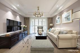 大气140平美式二居客厅装修装饰图