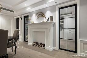 温馨69平美式二居客厅图片大全二居美式经典家装装修案例效果图