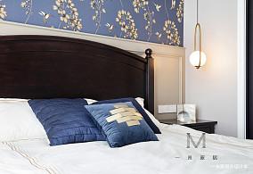 精美65平美式二居装修图片二居美式经典家装装修案例效果图