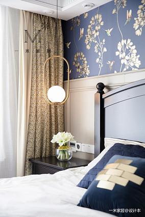 简洁80平美式二居设计美图二居美式经典家装装修案例效果图