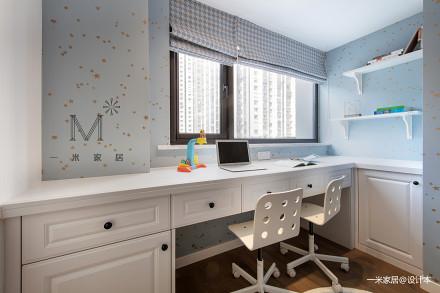典雅65平美式二居儿童房装修设计图