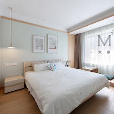 优美58平日式二居卧室装修图片