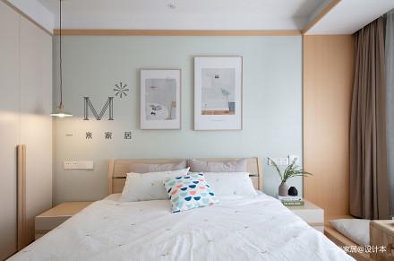 精美68平日式二居卧室装修美图