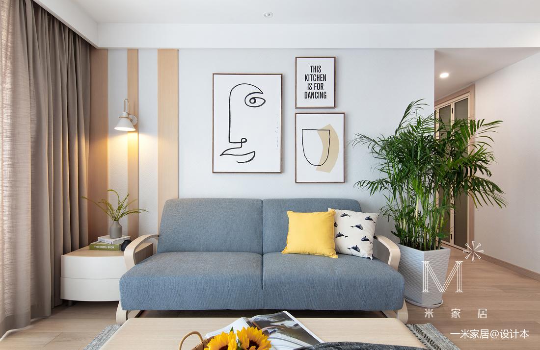 质朴117平日式二居客厅设计图客厅日式客厅设计图片赏析