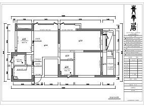 明亮124平美式三居设计美图三居美式经典家装装修案例效果图