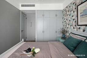 轻奢123平美式三居儿童房装饰图三居美式经典家装装修案例效果图