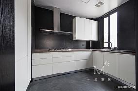 浪漫102平北欧三居厨房效果图三居北欧极简家装装修案例效果图