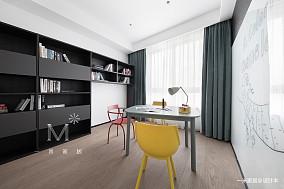 典雅117平北欧三居装修装饰图三居北欧极简家装装修案例效果图