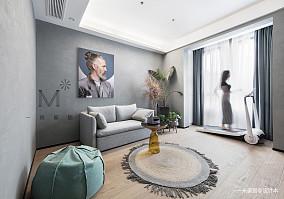 质朴112平北欧三居休闲区实拍图三居北欧极简家装装修案例效果图