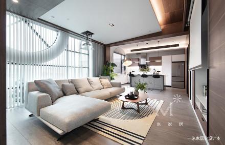 201953平现代二居客厅装修图
