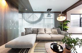 质朴77平现代二居装修美图二居现代简约家装装修案例效果图