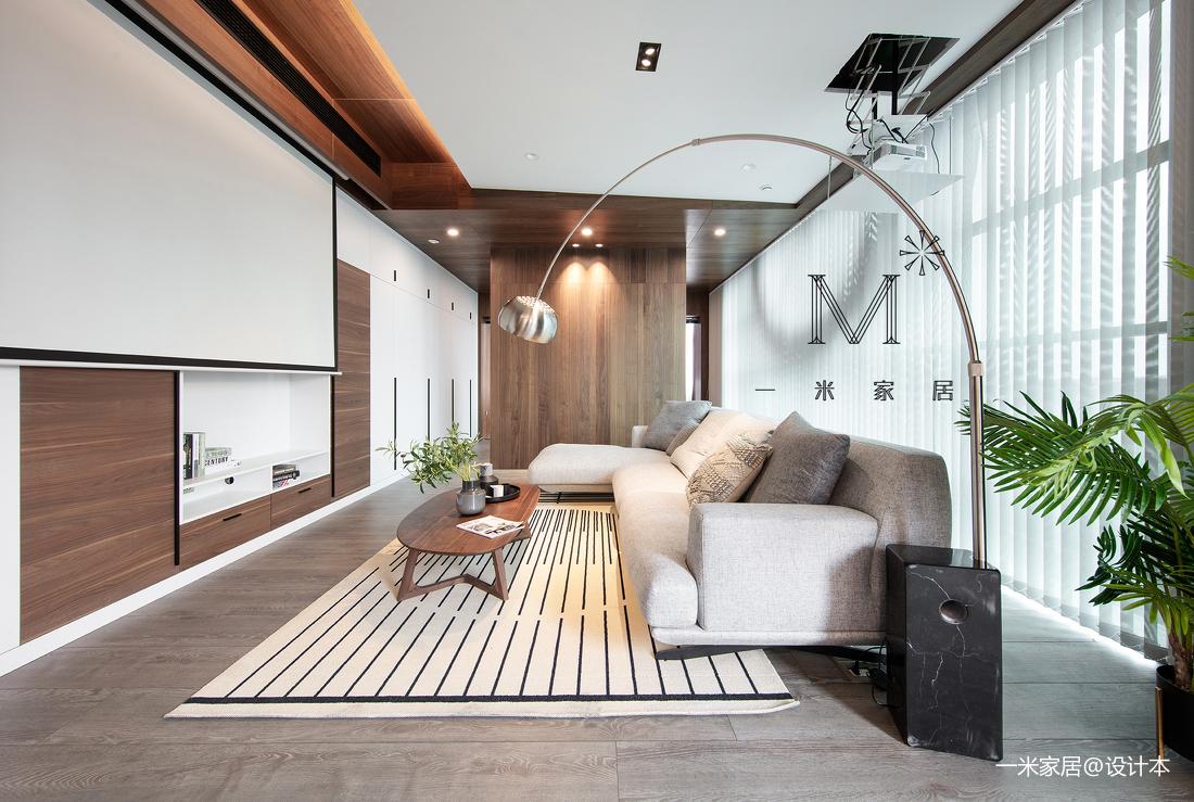 质朴140平现代二居客厅设计美图二居现代简约家装装修案例效果图