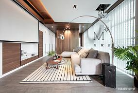 质朴140平现代二居客厅设计美图