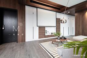【一米家居】在原处140m²现代二居现代简约家装装修案例效果图