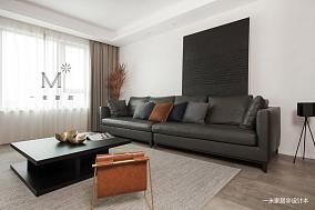 温馨58平现代二居客厅装修美图