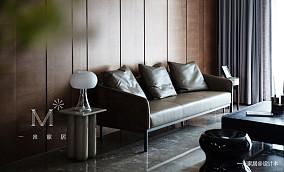 明亮104平现代三居美图三居现代简约家装装修案例效果图