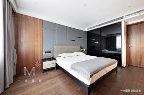 质朴114平现代三居美图三居现代简约家装装修案例效果图