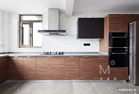 【一米家居】光&影250m²现代三居现代简约家装装修案例效果图