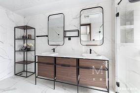 轻奢99平现代三居装饰图三居现代简约家装装修案例效果图
